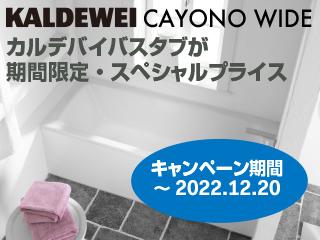 カルデバイ・カヨノワイド(KALDEWEI・CAYONO WIDE)