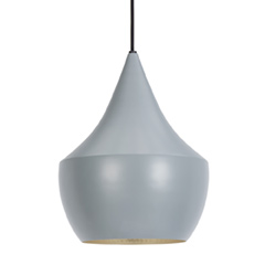 Beat Fat Pendant Grey