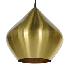 Beat Stout Pendant Brass